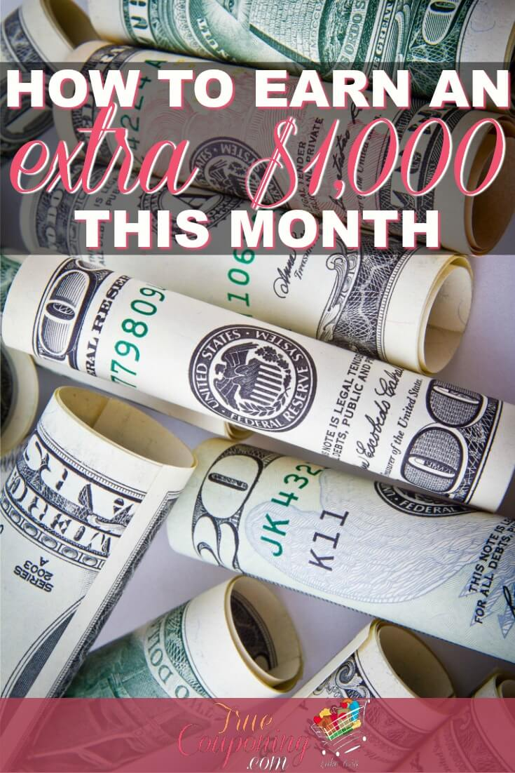Need some quick cash? Check out this article to earn $1,000 THIS MONTH!
