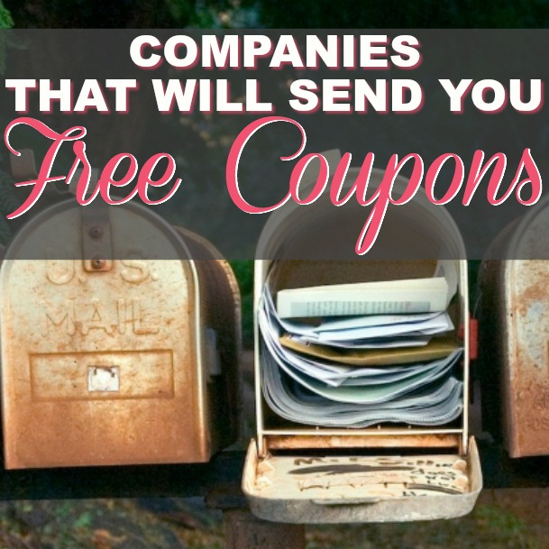 Get Happy Mail! These 200 Companies Will Send You FREE Coupons!