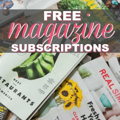 Get These SIXTEEN (16!) FREE Annual Magazine Subscriptions Worth $650 Total! {No Payment Needed AND You'll Never Get a Bill!}