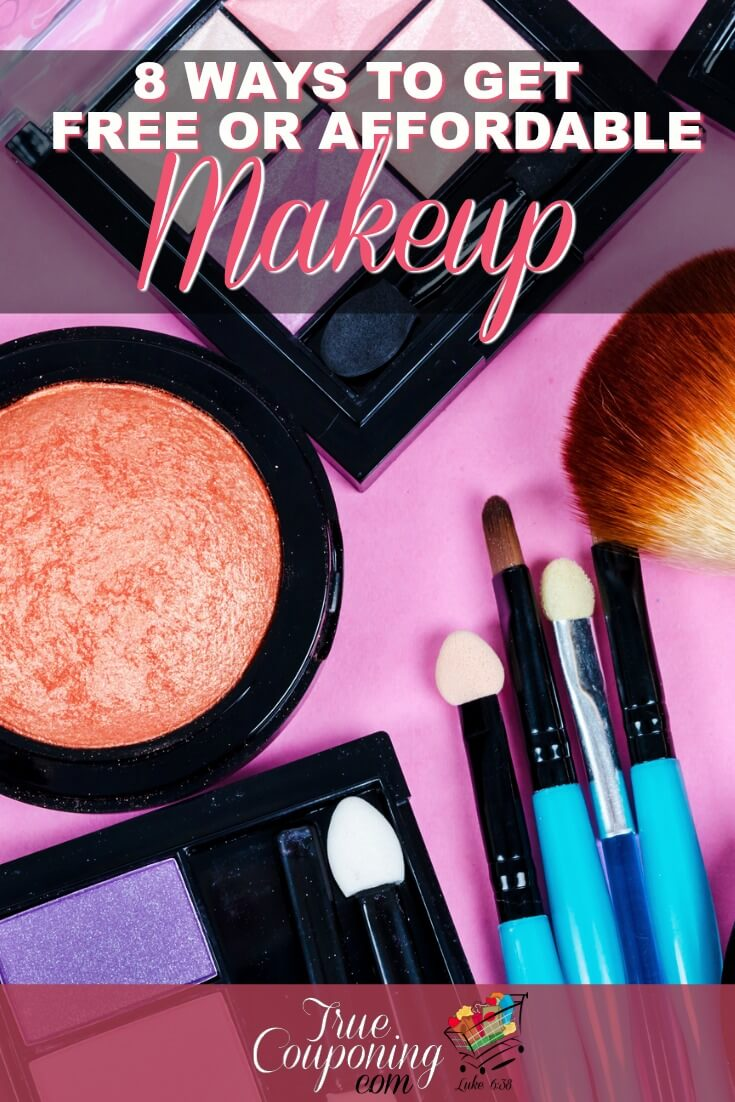 There are a ton of ways to get those beauty products you know and love at a fraction of the price! Use these 8 ways to get yours today! #savingmoney #truecouponing #debtfree #couponcommunity