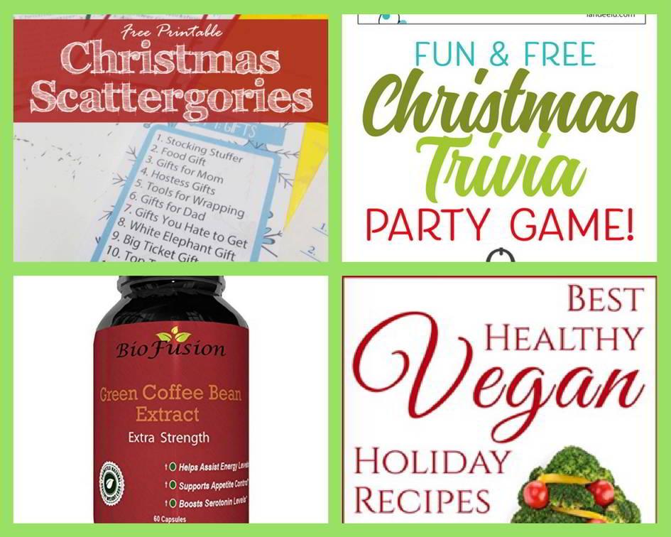 FOUR (4!) FREEbies: Christmas Scattergories Printable, Printable ...