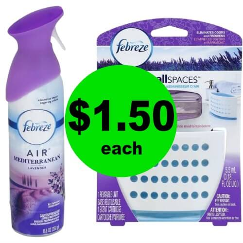 End the Stink! $1.50 Febreze Aerosols, Wax Melts & More at Publix! (Ends 1/2 or 1/3)