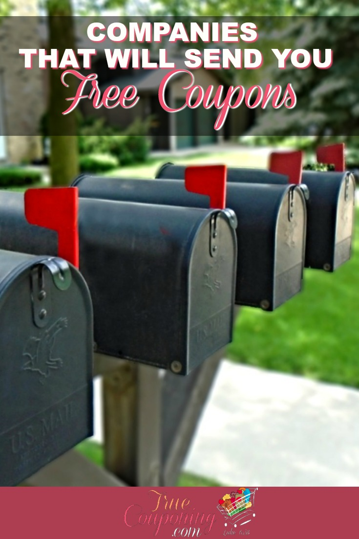 Send me coupons in the mail for free