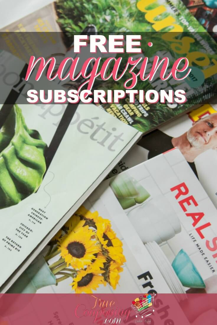 Get FIFTEEN (15!) FREE Magazine Subscriptions Before They're Gone. No payment needed & never receive a bill.
