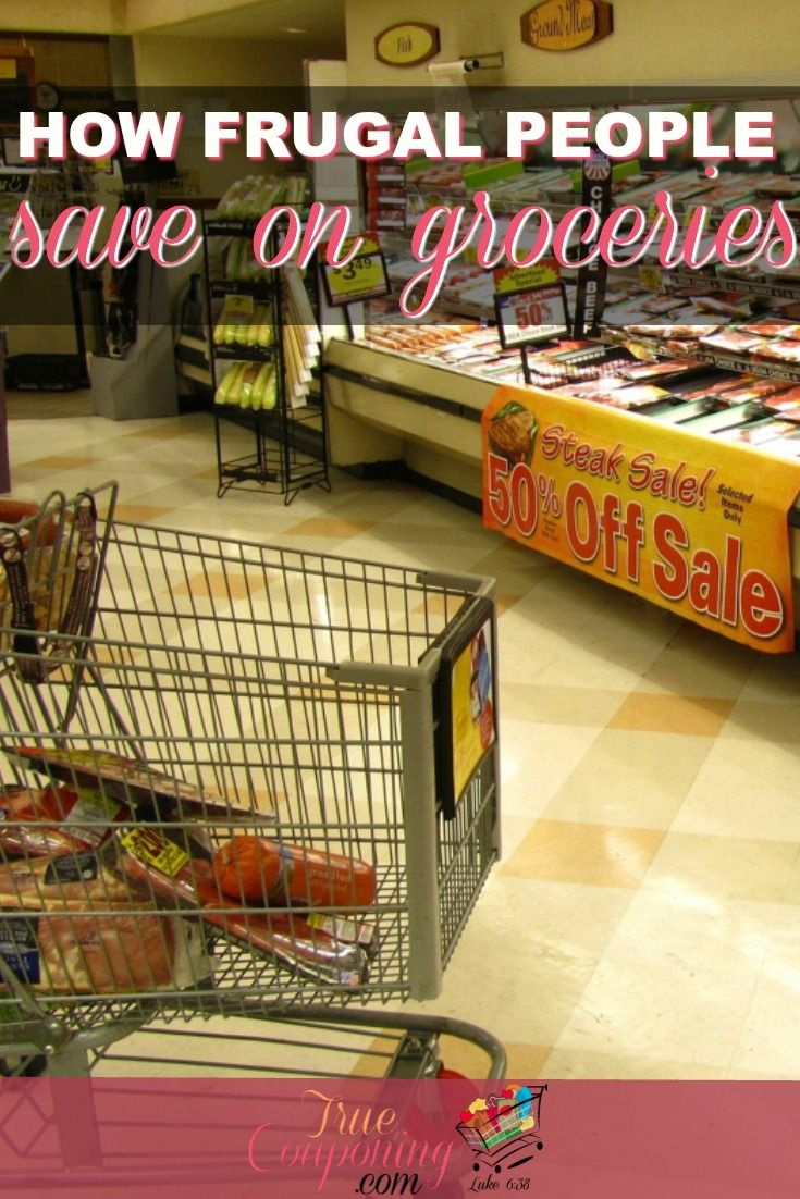 If you're looking to save money on your groceries, give these frugal tips a try! You might be surprised at how much you'll save! #truecouponing #savingmoney