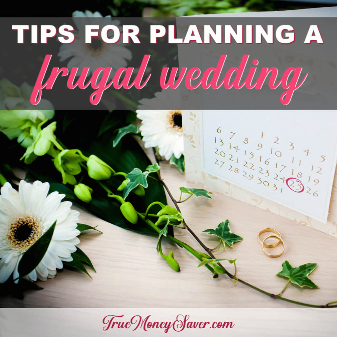 Tips For Planning A Frugal Wedding