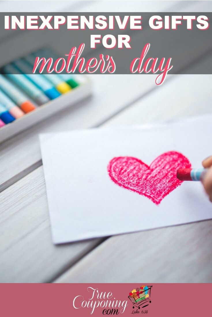 What are you getting your Mother for Mother\'s Day? Here\'s a great place to start when you don\'t have much money and need ideas to get her! #debtfreedom #couponcommunity #truecouponing #mothersday