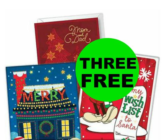 Grab THREE (3!) FREE Hallmark Cards at CVS! ~ NOW!