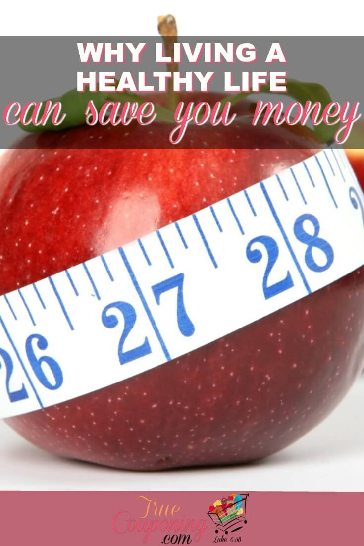 Living a healthy lifestyle doesn't have to be expensive, in fact, it can even save you money!