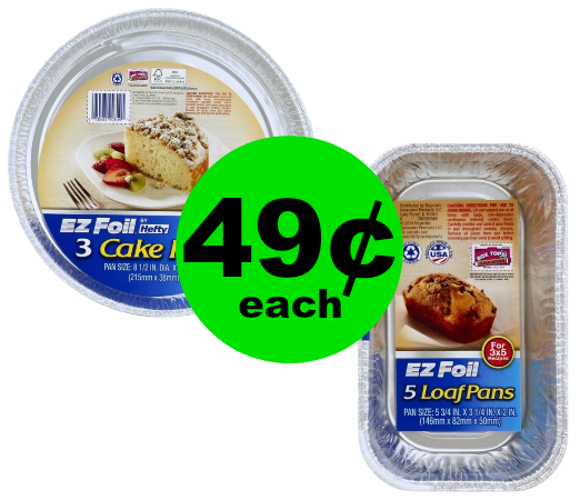 Scratch the Dishes! Pick Up 49¢ Hefty EZFoil Bakeware at Publix! ~ Going On Now!
