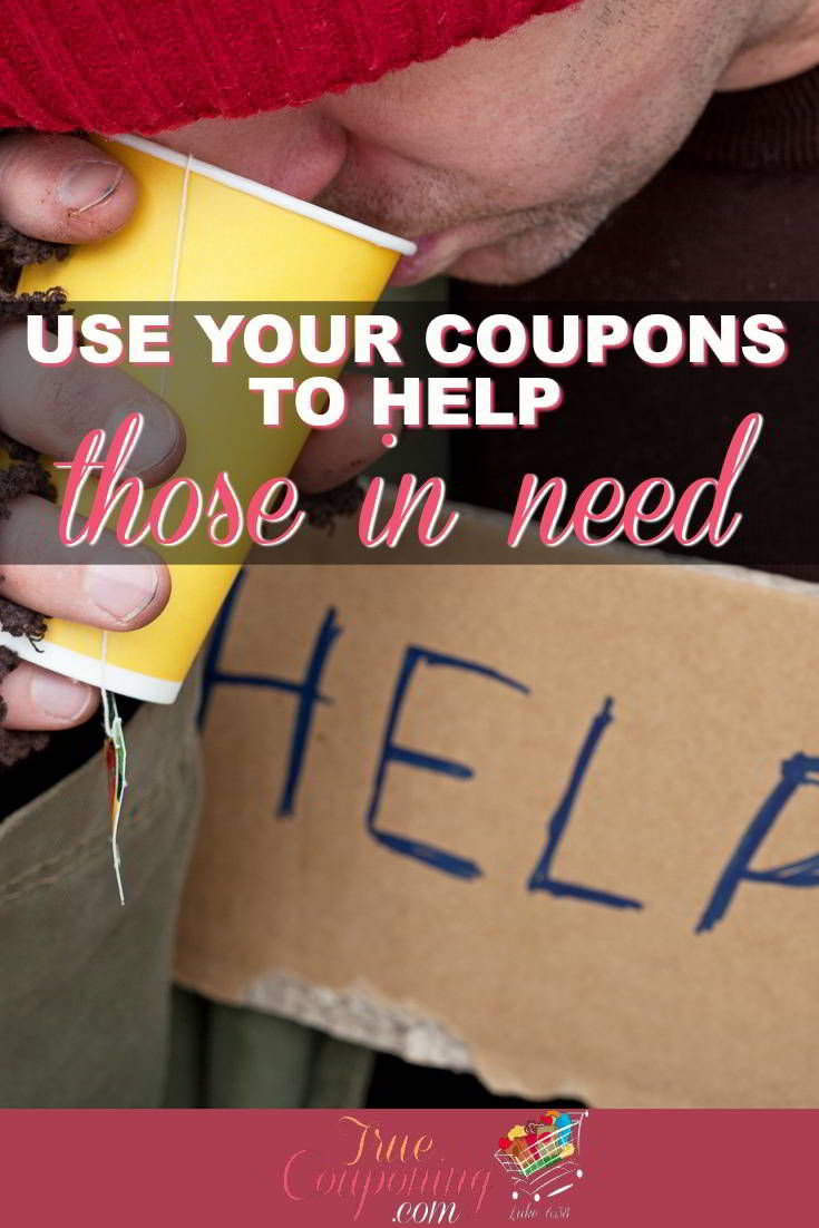 Helping the needy can be challenging when you are on a budget. Start using coupons to help the needy without breaking your piggy bank! #truecouponing #couponcommunity #givingback #couponing #helpingothers