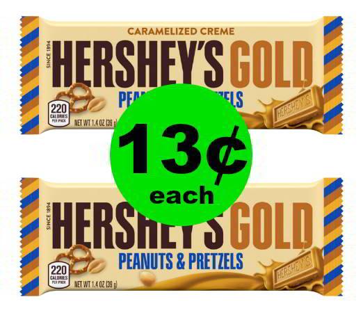 Still Need Stocking Stuffers? Grab 13¢ Hershey's Gold Candy Bars at CVS! (12/17 – 12/23)