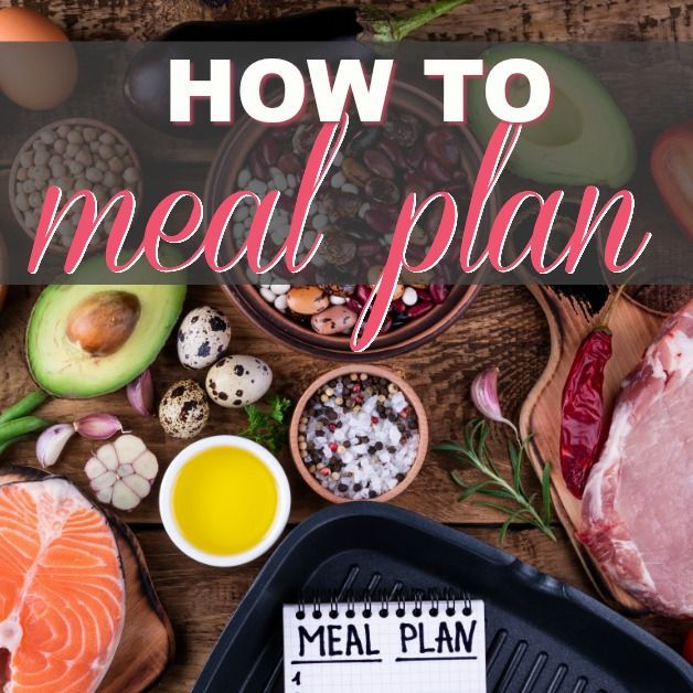 How To Build The Ultimate Weekly Meal Plan Template (Free Download)