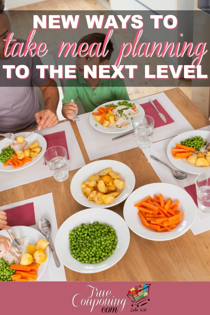 There are so many things you can do to take your meal planning to the next level!