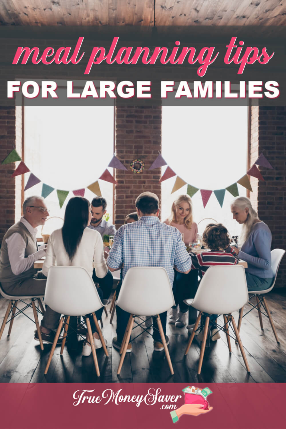 large family meal plans