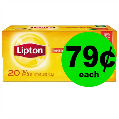 Refreshing & Cheap! Nab 79¢ Lipton Tea Bags at Publix! (Ends 1/5)