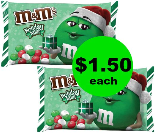 Cheap Chocolate! Nab $1.50 Mars Holiday M&M's Bags at CVS! ~ Right Now!