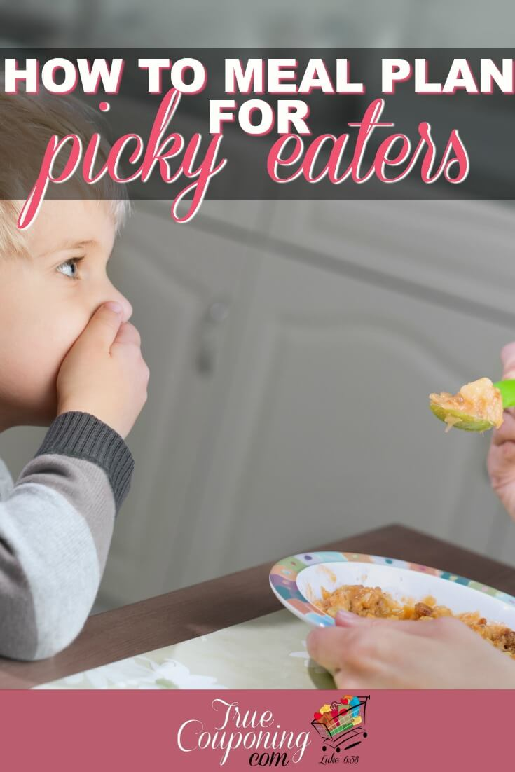 You can still meal plan even if you have picky eaters in the house!