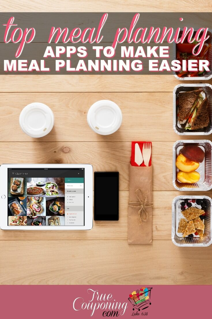 These FREE Meal Planning Apps with make your life (and dinners) easier. They might even make planning those dinners more fun! #mealplanning #mealplan #truecouponing #debtfree #savingmoney