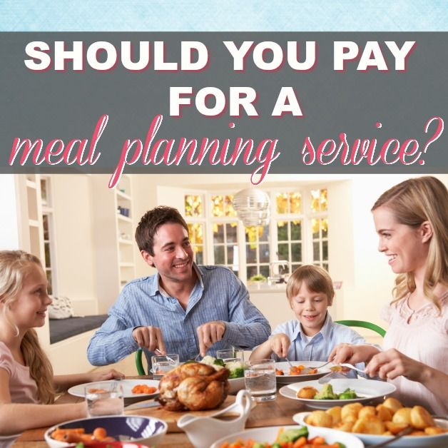 Should You Pay For A Meal Planning Service?