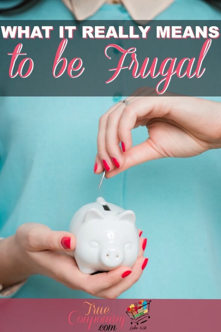 Being frugal is different than being a cheapskate it's learning to live smarter so that you can afford to live the life you want later. These tips will clarify the difference so you can keep more money in your pocket! #truecouponing #saving #frugal #cheap #frugalliving