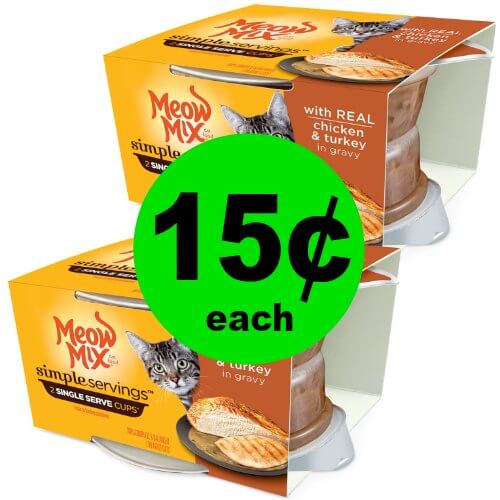 Kitty Mommies! Pick Up 15¢ Meow Mix Cat Food at Publix! Ends 1/2 or 1/3
