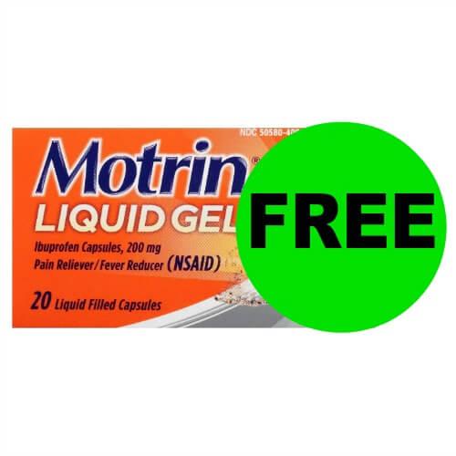 Grab FREE Motrin Liquid Gels at Publix! (Ends 12/29)