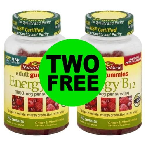 Grab TWO (2!) FREE Nature Made B12 Gummy Vitamins at Publix! (12/28-12/29 or 12/27-12/29)