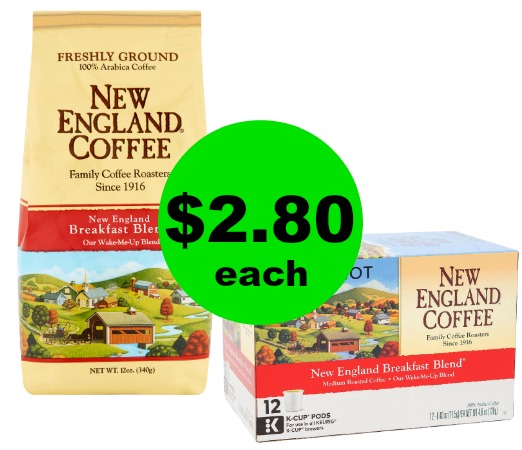 Enjoy Another Cup with $2.80 New England Coffee Bags at Publix! (Ends 4/3 or 4/4)