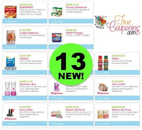 Save Up to $23 With These Thirteen (13!) *NEW* Coupons Out Today! ~ PRINT NOW!