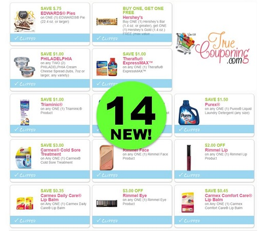 PRINT These Fourteen (14!) NEW Coupons Out Today for Purex, Rimmel, Carmex & More!