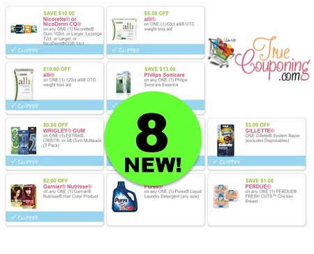 PRINT The EIGHT (8!) NEW Coupons That Came Out This Weekend! PRINT NOW!