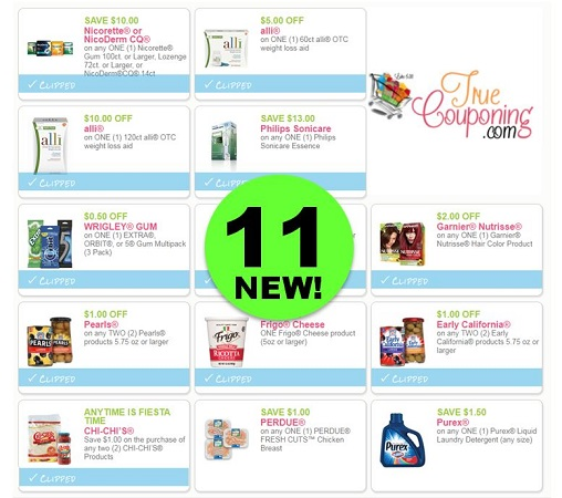 Go Ahead and PRINT the Eleven (11!) NEW Coupons Out This Week!