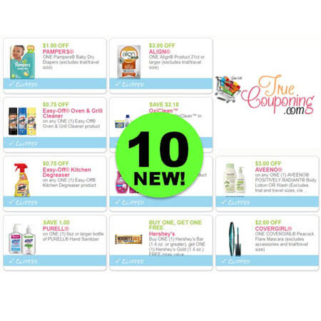 There's TEN (10!) NEW Coupons Out Today! Save on CoverGirl, Veet, Aveeno & More!