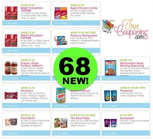 PRINT the Sixty-Eight (68!) **NEW** & Reset Coupons That Came Out This Weekend!