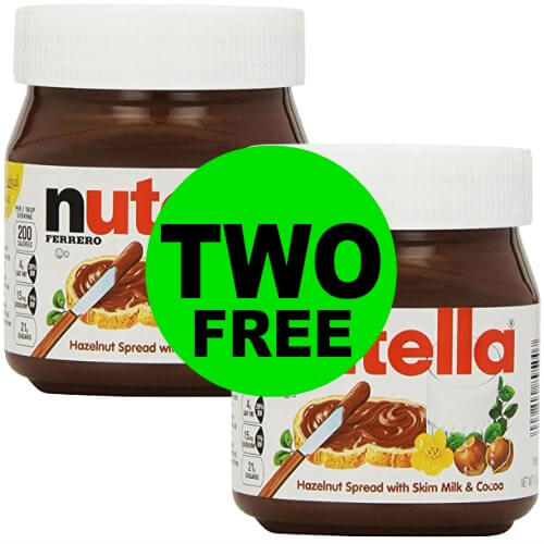 Enjoy TWO (2!) FREE Nutella Jars at Publix! (1/3 or 1/4 to 1/5)