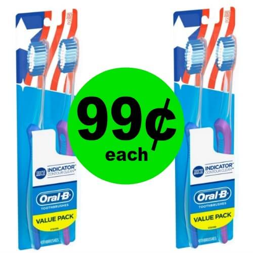 Brush Up & Freshen Up with  Oral-B Toothbrush 2 Packs at CVS! (12/31 – 1/6)