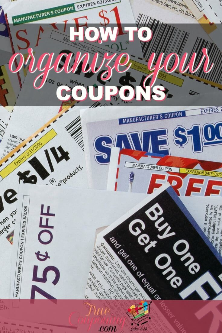 Are your coupons a mess and disorganized? Here's my favorite and the easiest method of filing them away that will get you organized in no time! #truecouponing #couponcommunity #couponing #organization #organized