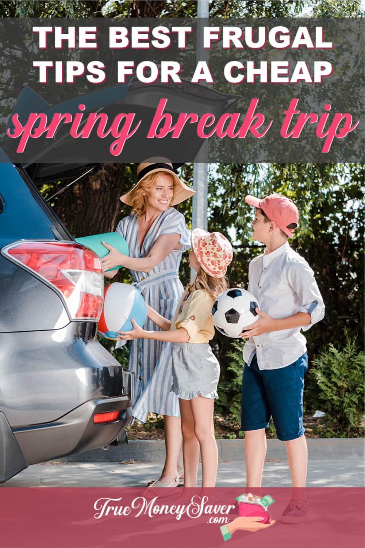 cheap spring break trips for families