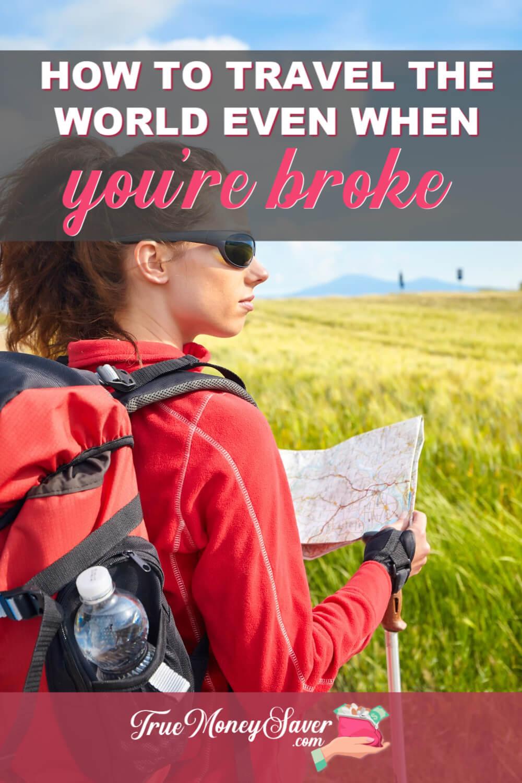 broke traveler