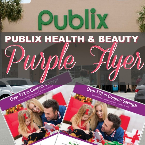 💜 Publix Purple H&B Flyer 💜 With (32) Store Coupons Inside! (Ad Runs 9/22-10/5)