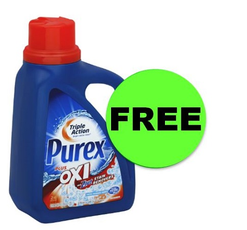 PRINT NOW for FREE Purex Detergent at CVS! Starts Sunday!