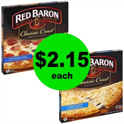 It's Time for An Easy Dinner Night! Grab $2.15 Red Baron Pizzas at Publix (No Coupons Needed)! (Ends 1/2 or 1/3)