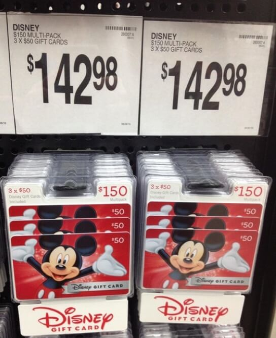 How To Get FREE And Discounted Disney Gift Card For Your