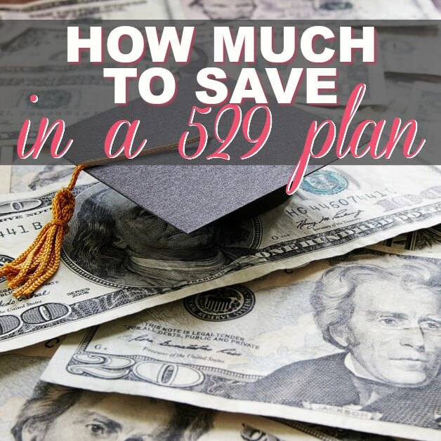 How Much To Save In A 529 Plan