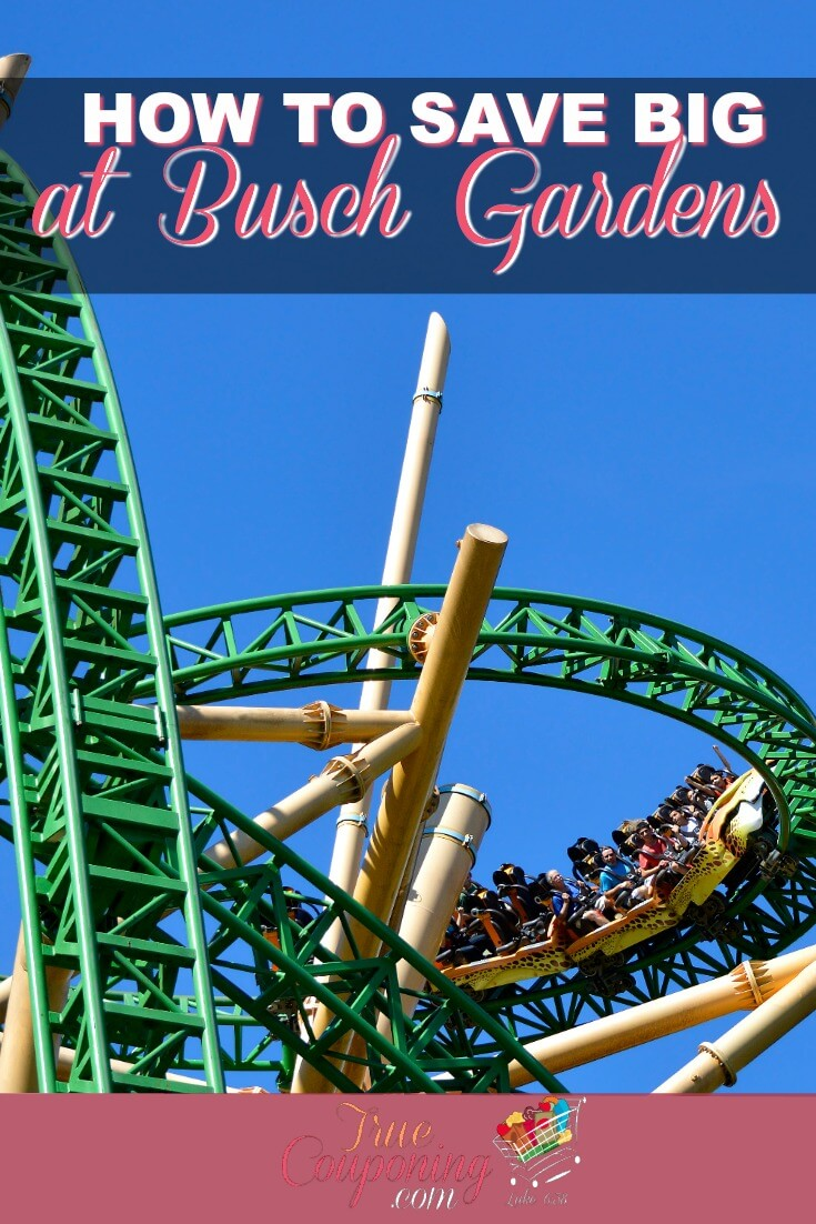 Wanting to go to Busch Gardens, but don't think you can swing it? Try these tips to have an affordable and wonderful time for you and your family. #truecouponing #savemoney #familyvacation #buschgardens #vacationfun