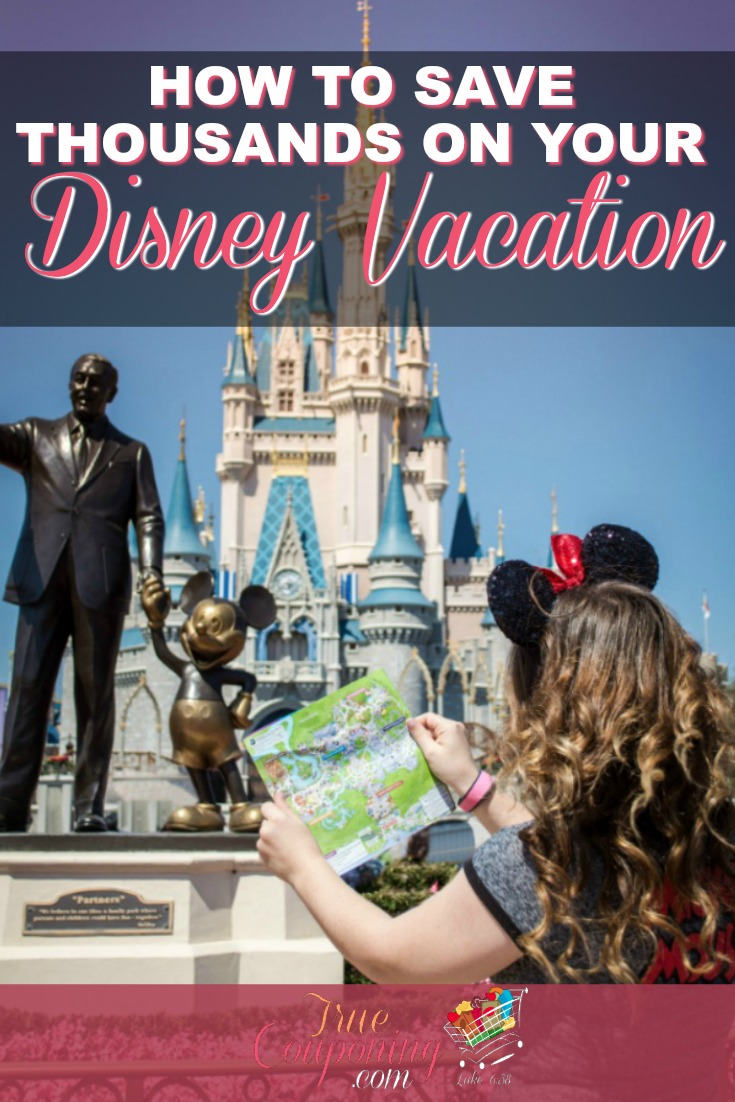 Disney can be so expensive. You can enjoy a Disney vacation on a budget and you won't need a lot of money either if you just follow these tips! #truecouponing #disney #familyvacation #savings #debtfree