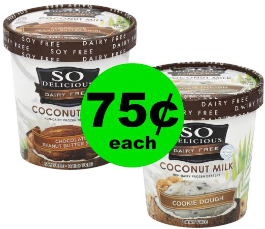 Print NOW and Grab 75¢ So Delicious Dairy Free Desserts at Publix! ~ Starts Weds/Thurs!