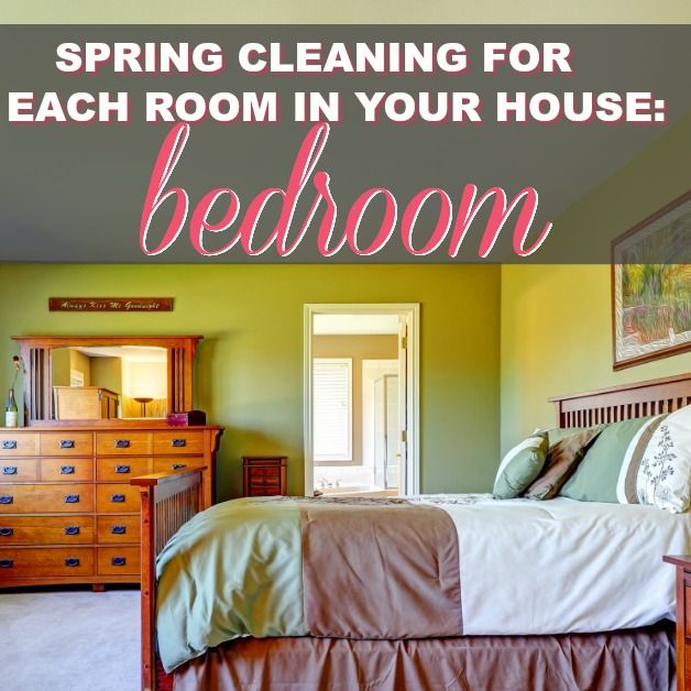 Spring Cleaning For Each Room In Your House: Bedroom