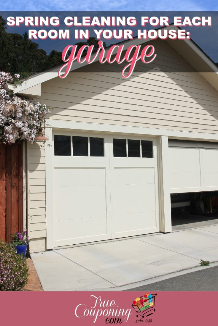 Spring Cleaning For Each Room In Your House: Garage